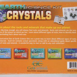 Crystal Earth Science Kit