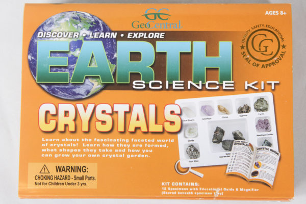 Crystals Earth Science Kit
