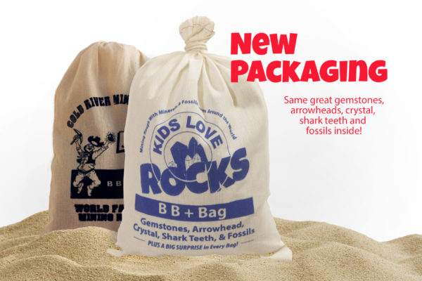 This is an image of Kids Love Rocks BB+ Bag with New Packaging