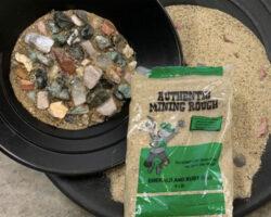 Green Emerald Mining Bag