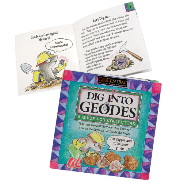 Dig into Geodes Book