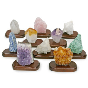 Assorted Minerals on Stands