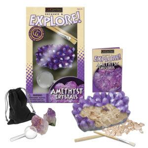 Excavate & Explore Amethyst Kit