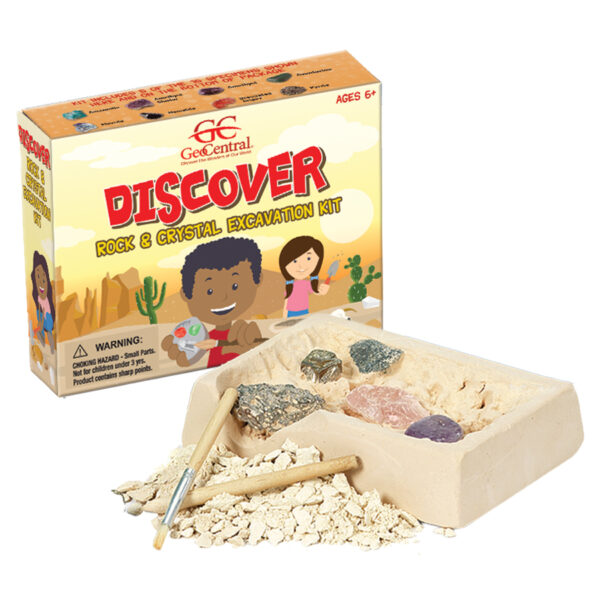 Rock & Crystal Excavation Kit