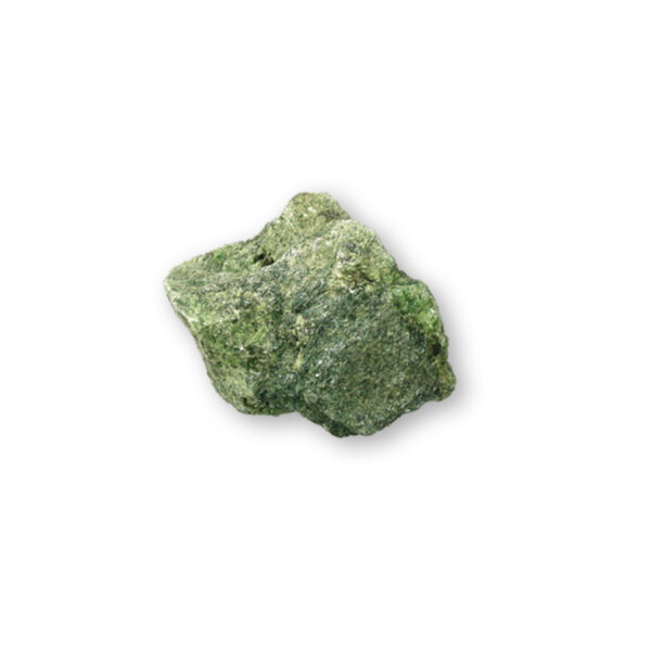 Diopside Rough Green Rock Geode