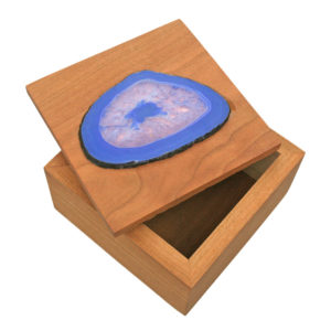 Mineral and Wood Decor Box