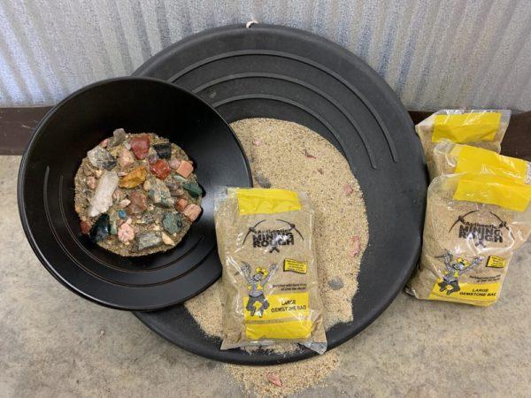 Yellow Bag (Large Gemstone Bag)