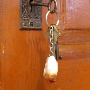Citrine Point Key Chain