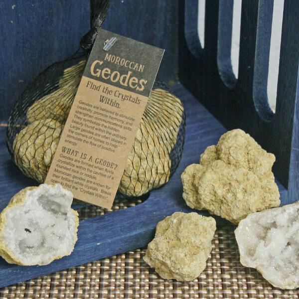 Geode, rock, crystals, Kit