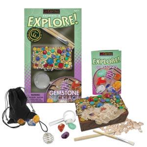 Excavate & Explore Gemstone Necklace Kit
