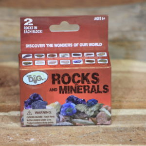 Rock and Mineral Mini Dig Kit