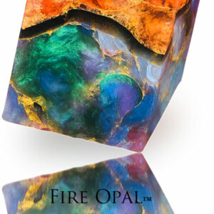 Fire Opal Soap Rock