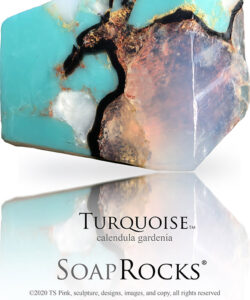 Turquoise Soap Rock