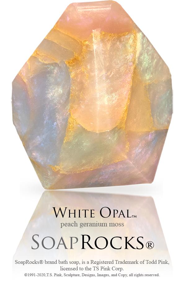White Opal SoapRock