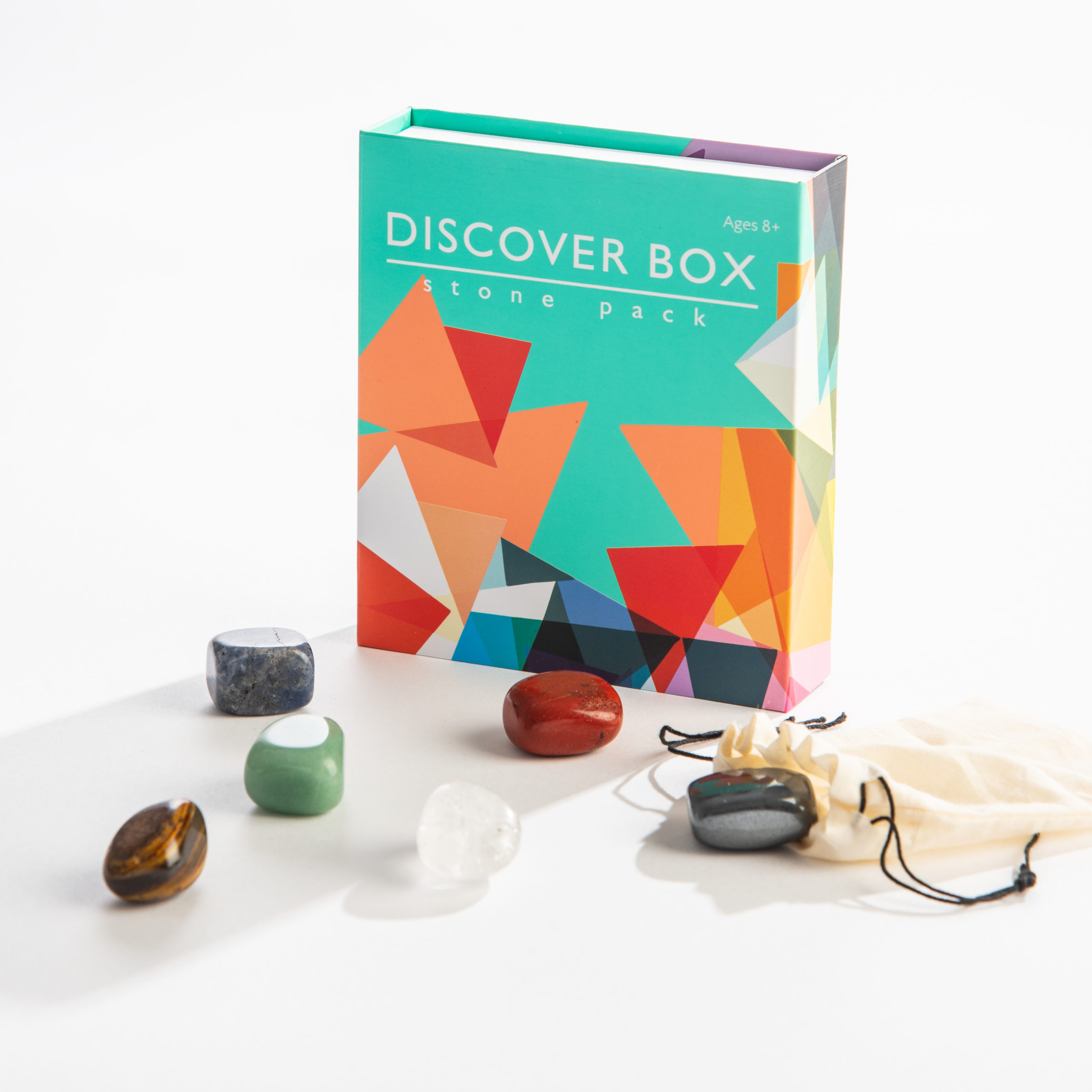 Discover box of stones