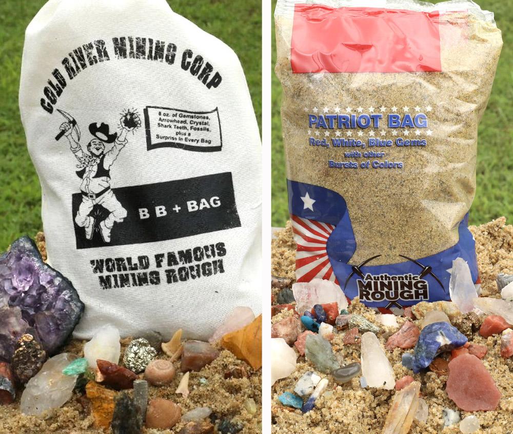BB+ and Patriot Bag Combo Mining Rough Bag