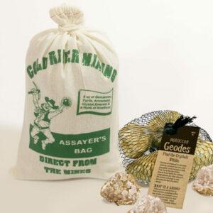 Assayer's Bag Plus 5 Geodes Combo