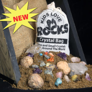 Large Crystal Bag, Crystal Mining Bag