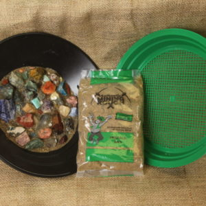 Green/Emerald Bag plus Sifter