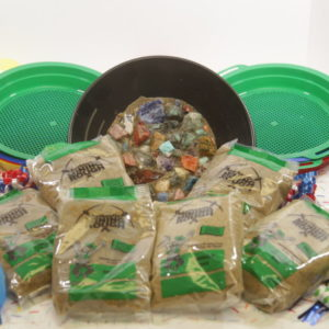 Green bag Party pack (Emerald bag) 6 bags 6 sifter