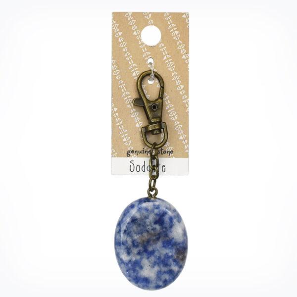 Sodalite Wish Stone Charm