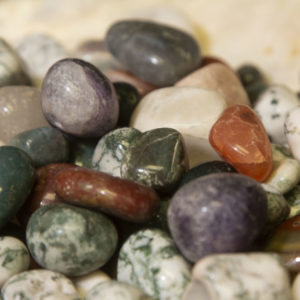 Natural Assorted Tumbled Stone 1lb