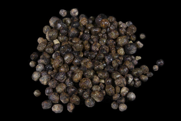 Rough Garnet Stones 1 pound top view