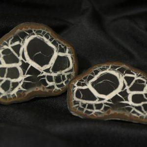 Septarian Nodule, Dragon Stone, Matching Pair