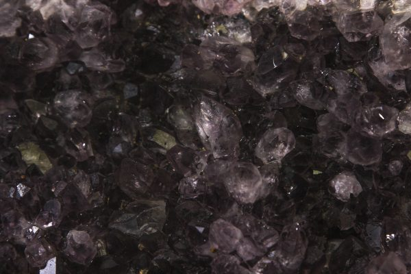 Large Amethyst Crystal Cluster Geode close view