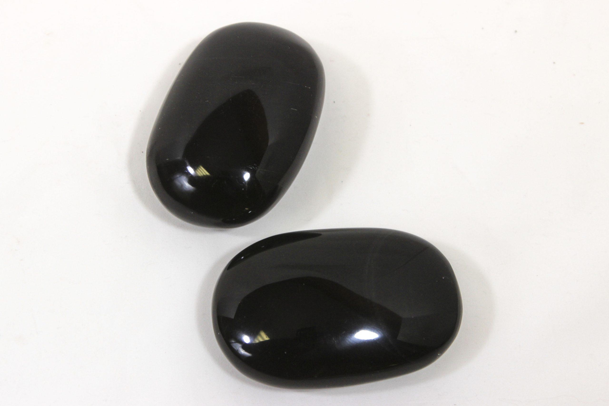 obsidian massage stone