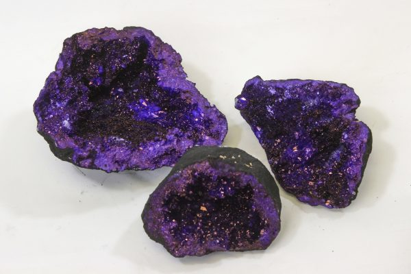 Purple Large Dyed Geode