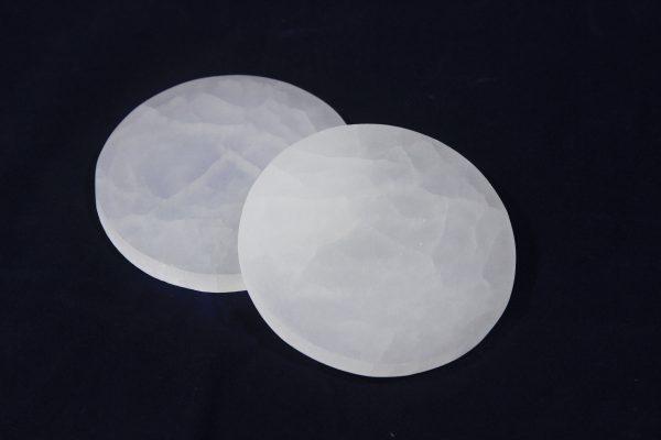 Round Selenite Charging Plates