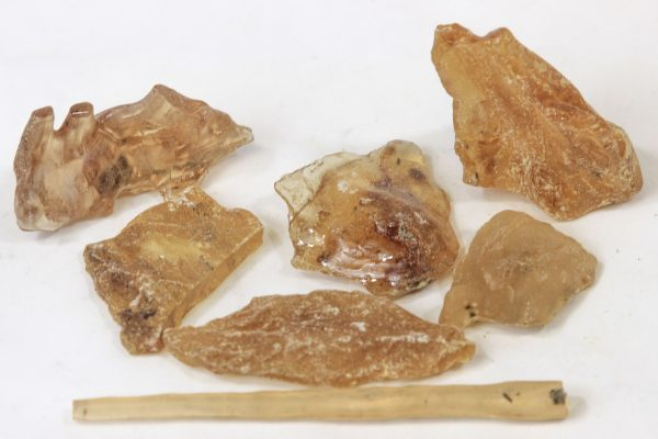 Pile of Quarter pound of Raw Amber Copal