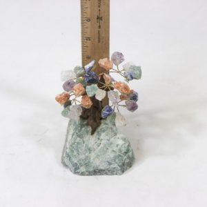 Mixed Gemstone Crystal Points Tree with Aventurine base