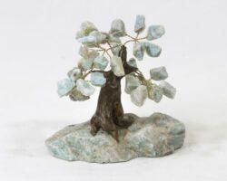 Small Amazonite Gemstone Tree