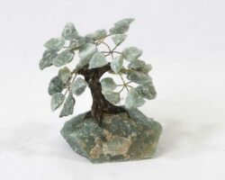 Green gemstone tree