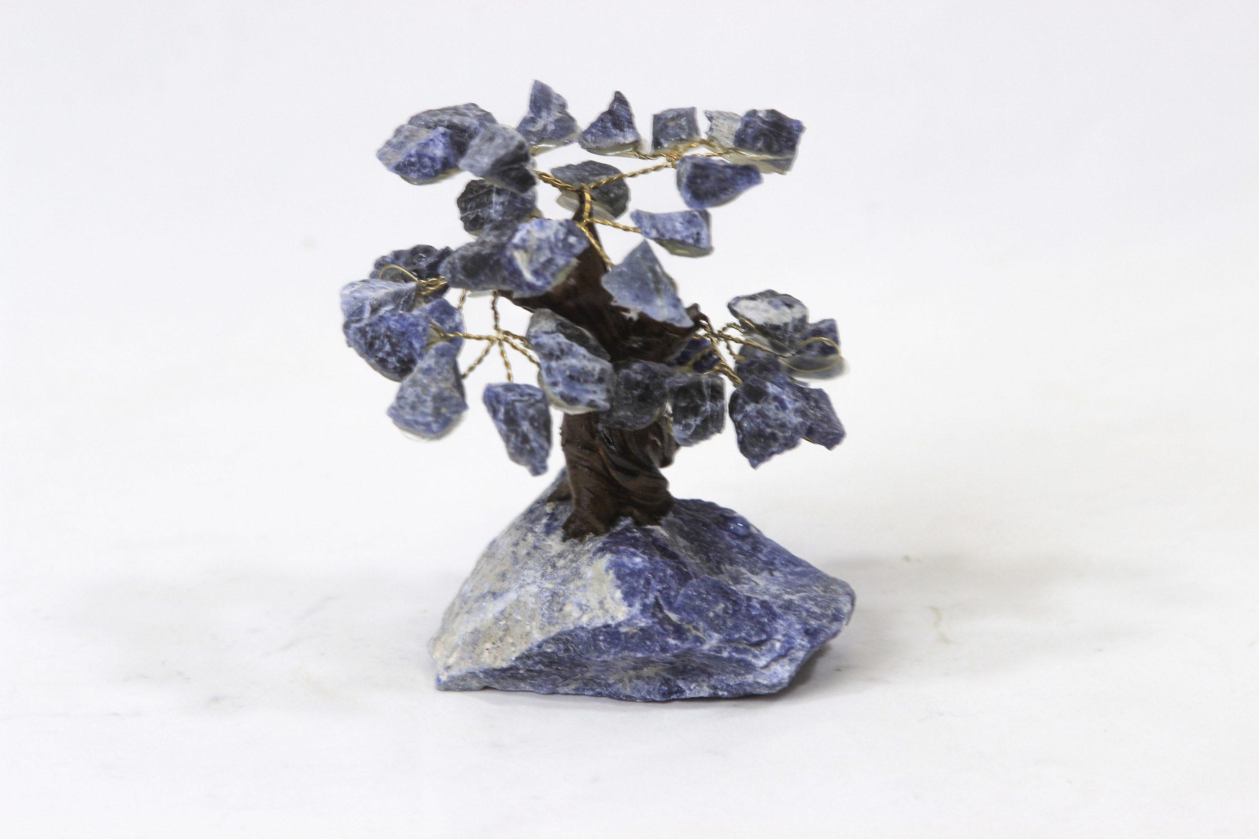 Sodalite gem tree