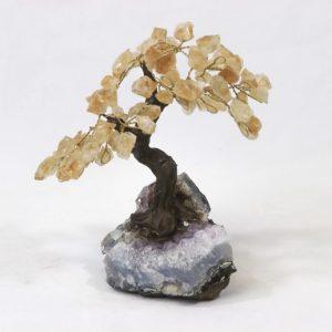 Citrine Crystal Points Gemstone Tree Meduim