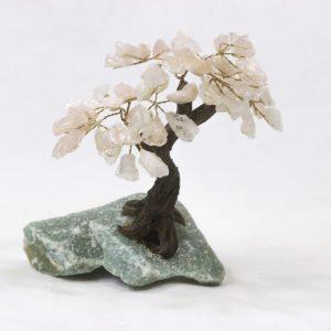 Rose Quartz Crystal Gemstone Tree Medium