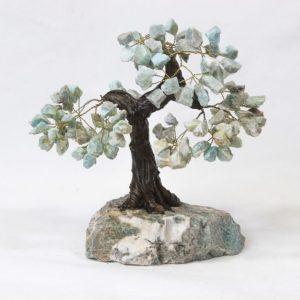 Large Amazonite Gemstone Crystal Tree