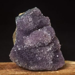 Amethyst Cluster With Bloom