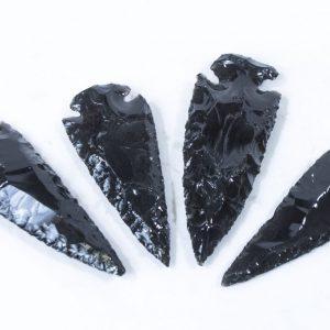 """Black Obsidian Arrowhead 3"""""""