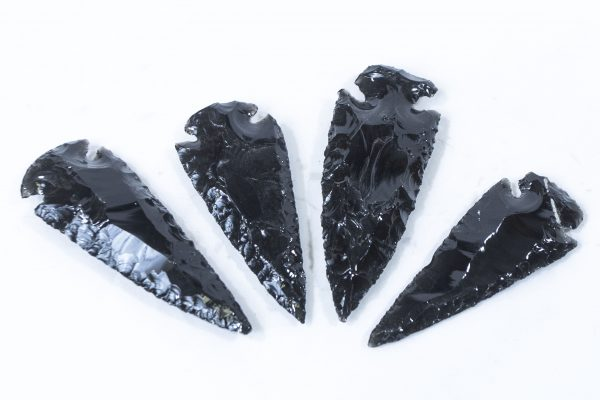 Black Obsidian Arrowhead 3 inches