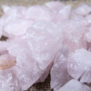10 Pack Rose Quartz Arrowheads 1""
