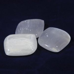 Selenite Soap, Worry, Wish Stone