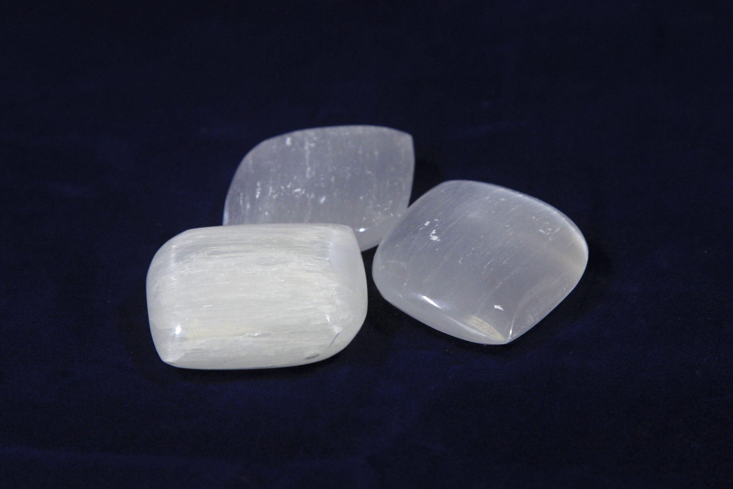 selenite soap stone