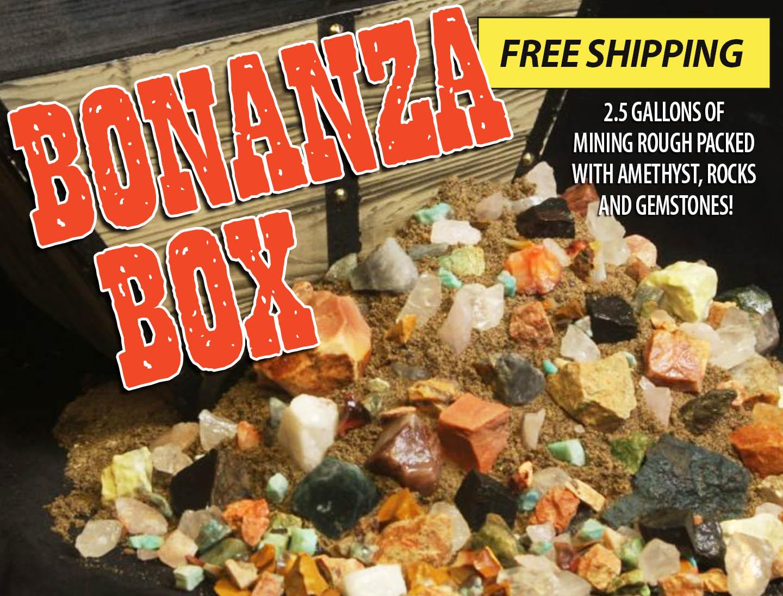 Kids Love Rocks Bonanza Box Big Mining Kit