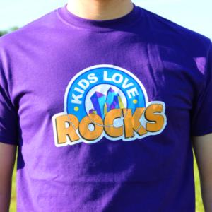 Kids Love Rocks T-shirt