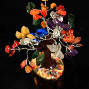60 Chip Mixed Gemstone Tree