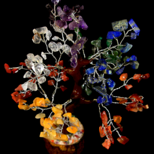 160 Chip Mixed Gemstone Tree